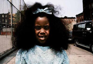 Joseph Rodriguez, 'Girl with blue dress, Spanish Harlem, NY', 1988