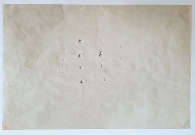 Lucio Fontana, 'Drawing: Space Concept by Lucio Fontana', 1962-1963