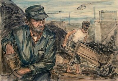 Ben Shahn, 'Coal workers', ca. 1940