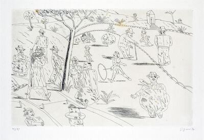 Antonio Seguí, 'Le cerceau', 1974