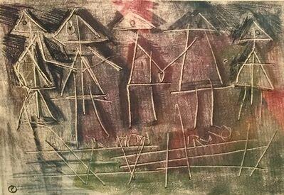 Louis Schanker, 'Five Figures', 1948