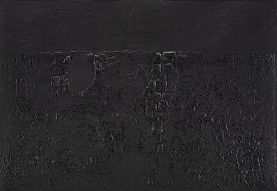 Alberto Burri, 'Cretto Nero B', 1971