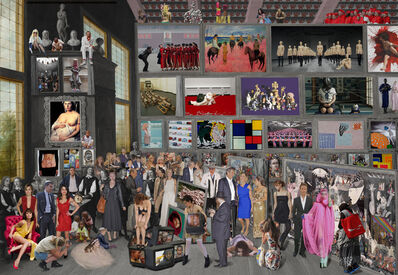 Lluis Barba, 'The Archduke Leopold William in His Picture Gallery in Brussels, David Tenier', 2014