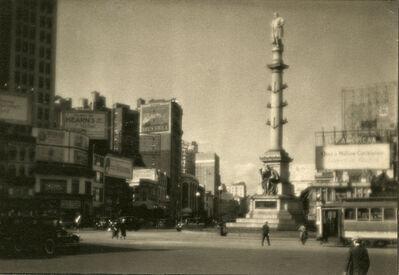 Ira Martin, 'Columbus Circle', ca. 1921