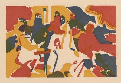 "Wassily Kandinsky, '""Orientalisches"" Wood Engraving for Klaenge', 1975"