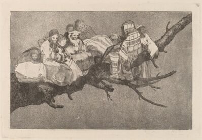 Francisco de Goya, 'Disparate ridiculo (Ridiculous Folly)', in or after 1816
