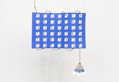 Dana Hemenway, 'Untitled (Cord Weave No. 4 - Blue Squiggles)', 2017