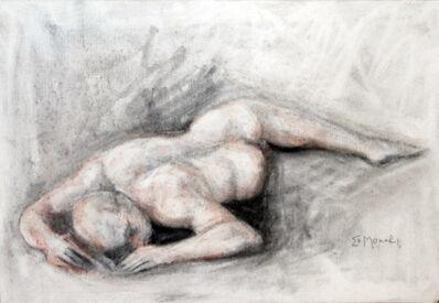 Monari, 'Nu masculino deitado  |  Naked male lying down  ', 2001