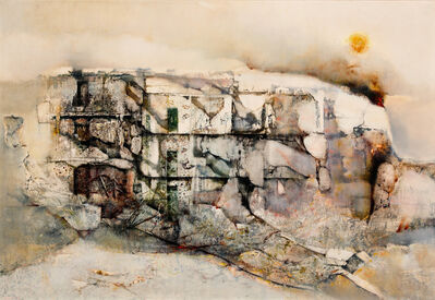 Renzo Vespignani, 'Bombardamento a San Lorenzo', 1975