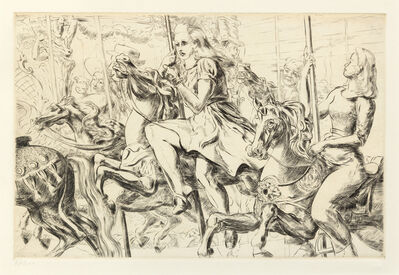 Reginald Marsh, 'Merry-Go-Round', 1940