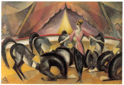 Wladimir Georgiewitsch von Bechtejeff, 'Circus Scene', 1910