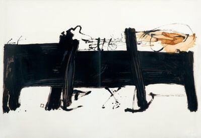 Antoni Tapies, 'Grande Table', 1984
