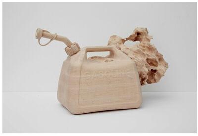 Roxy Paine, 'Gas Tank Rock No. 2', 2014