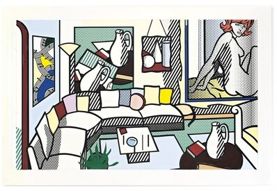 Roy Lichtenstein, 'Collage for Interior: Perfect Pitcher'