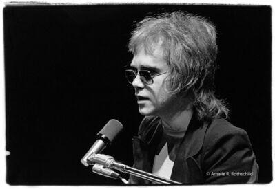 Amalie R. Rothschild, Jr., 'Elton John at Fillmore East, April 8, 1971', 1971