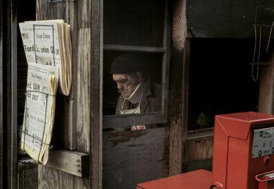 Vivian Maier, 'Newspaper Man (VM1976K05714-08-MC)', n.d