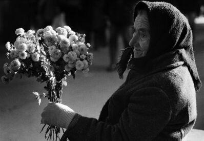 Ulla Lemberg, 'Blomsterbuketter drygar ut pensionen Ungern ', 1989