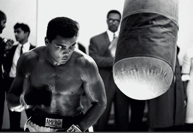 Thomas Hoepker, 'Muhammad Ali training prior a fight', 1966