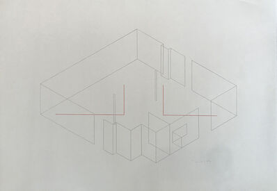 Fred Sandback, 'Siebdruck (Screenprint)', 1985