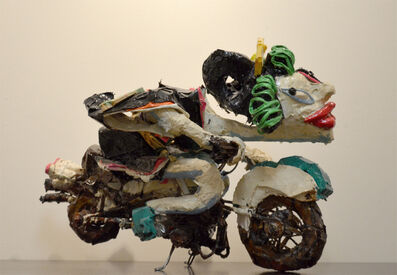 Ushio Shinohara, 'Wonder Woman Motorcycle', 2014