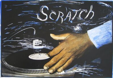 Charlie Ahearn, 'Scratch DJ (blue)', 2016