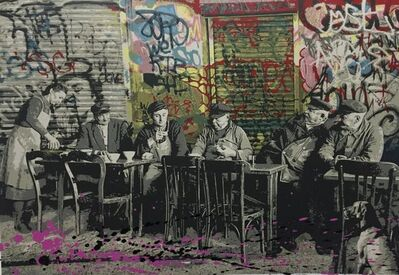"Mr. Brainwash, 'MR BRAINWASH ""LE BISTRO"" ', 2008"