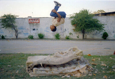 Jamel Shabazz, 'Flying High, Determination, Brooklyn, NYC', 1982