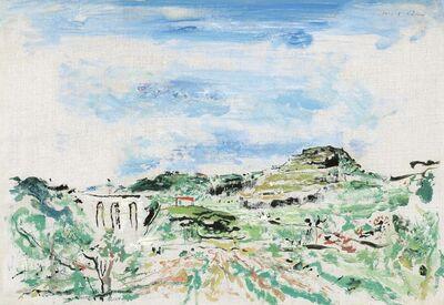 Wilhelm Thöny, 'Summer landscape in Southern France', ca. 1935