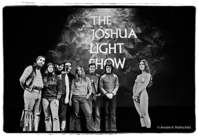 Amalie R. Rothschild, Jr., 'Joshua Light Show Holiday Portrait, December 1969', 1969