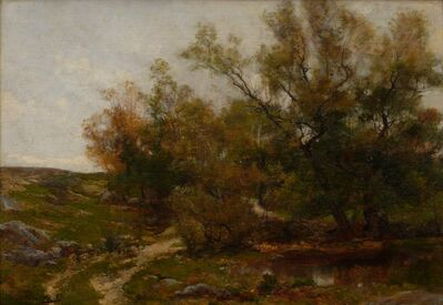 Hugh Bolton Jones, 'Early Autumn, New England', 1880