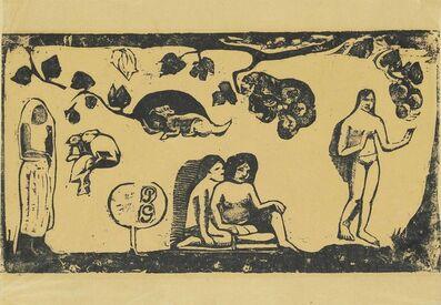 Paul Gauguin, 'Femmes, Animaux et Feuillages', 1898
