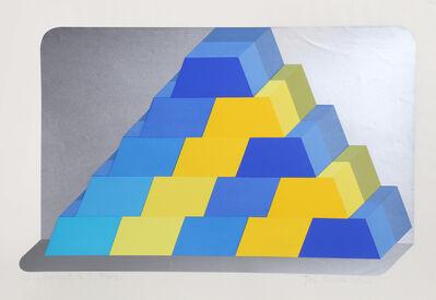 Joe Tilson, 'Ziggurat 6', 1966