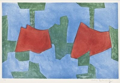 Serge Poliakoff, 'Composition bleue, verte et rouge', 1968