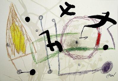 Joan Miró, 'Maravillas con variaciones acrósticas en el jardín de Miró V', 1975