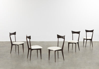 Ico and Luisa Parisi, 'Set of five dining chairs', ca. 1945