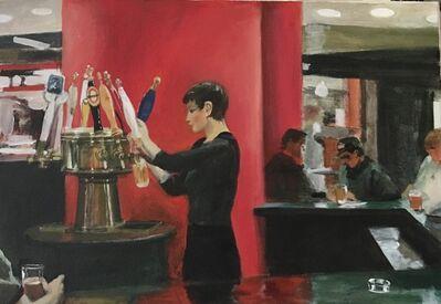 Leonid Gervits, 'Bar at the WTC', 2001-2003