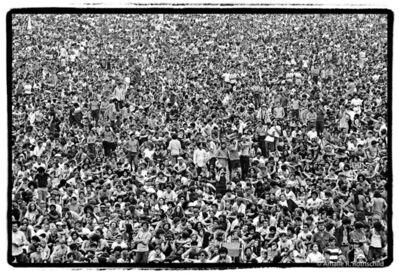 Amalie R. Rothschild, Jr., 'Woodstock, August 16, 1969', 1969