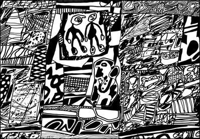 Jean Dubuffet, 'Site de Memoire III', 1979