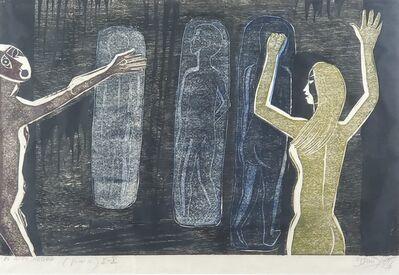 Francisco Amighetti, 'El muro negro', 1977