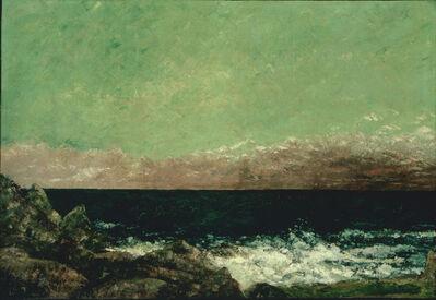 Gustave Courbet, 'The Mediterranean', 1857