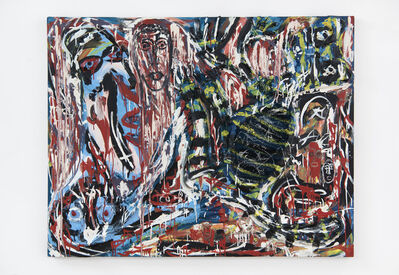 Thornton Dial, 'Shedding the Blood', 1991