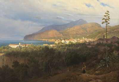 Thomas Fearnley, 'Sorrento', 1840