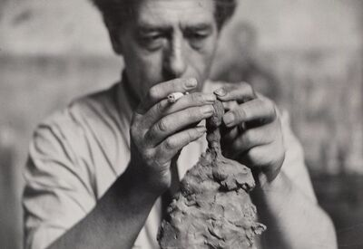 Alexander Liberman, 'The Artist in His Studio and Alberto Giacometti'