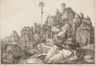 Albrecht Dürer, 'Saint Anthony reading (B. 58; M., Holl. 51; S.M.S. 87)', 1519