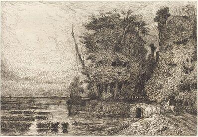 Paul Huet, 'Orage à la Fin du jour', 1868