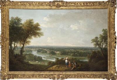 Francesco Zuccarelli, 'A View of the River Thames from Richmond Hill'