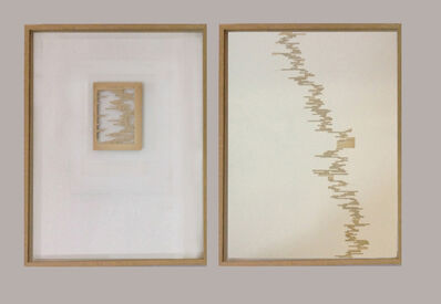 Mar Arza, 'Escala de valores... / Laberinto de valores...', 2014