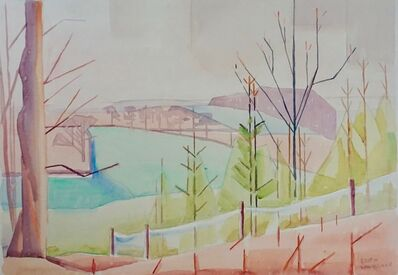 Edith Mary Lawrence, 'Spring in Surrey', ca. 1935