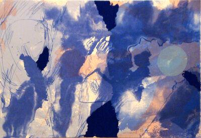 Josep Guinovart, 'Llum blava', 2020