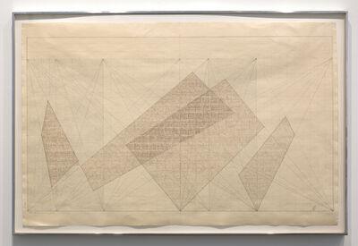 Jack Tworkov, 'Colored Pencil & Graphite (3 - 5 – 8 #2) (76 #14)', 1976
